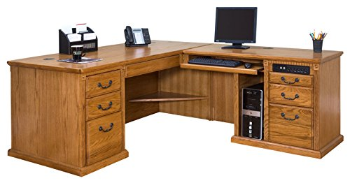 Right and left L-shaped desks