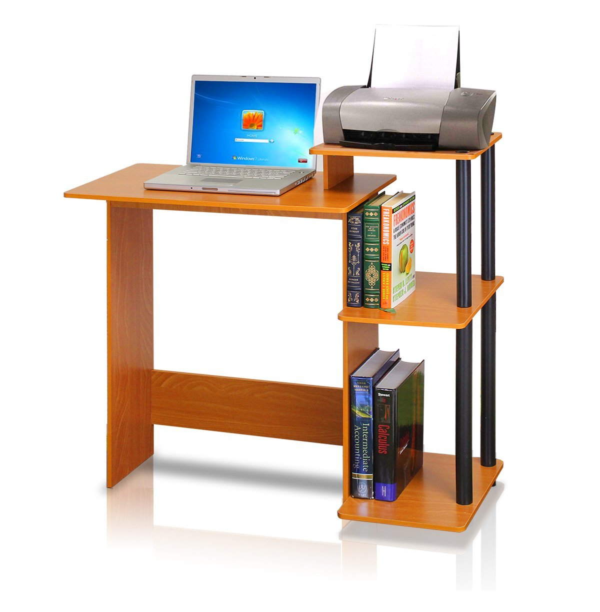 Notebook computer desk