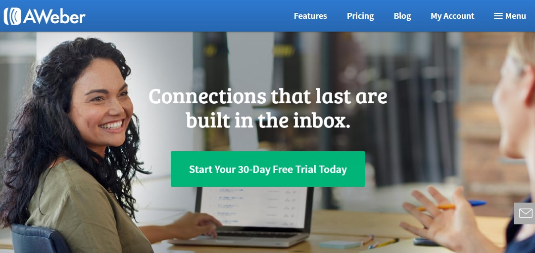 Start a 30 day free email marketing trial