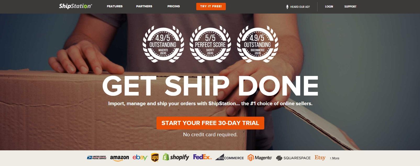 Shipstation eCommerce Shipping