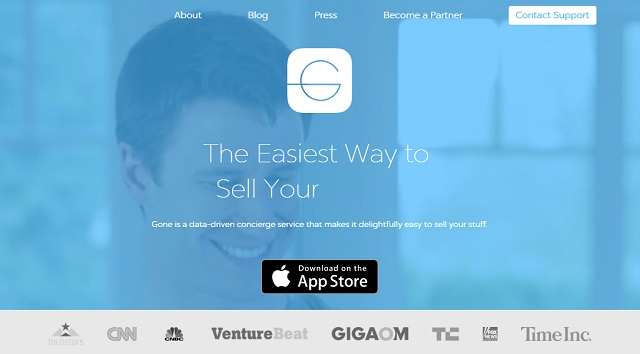 Selling on demand with the gone app