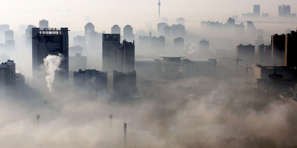 Cities are now commonly engulfed in smog