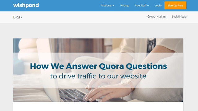 How to use Quora to drive traffic