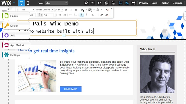 how to change wix template - how to create a free website with wix